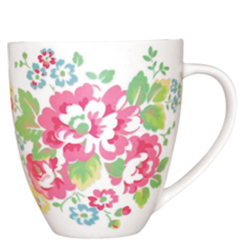 Cath Kidston Spray Flowers Crush Shaped Mug