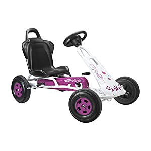 FERBEDO Go-Cart Flower Tourer (White/Pink)