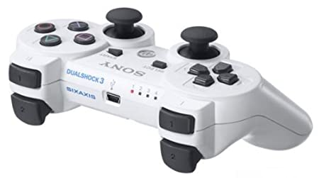 PS3 Dual Shock3 wireless controller - White