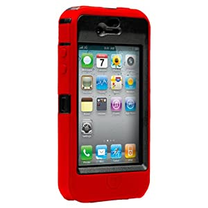 OtterBox Case for iPhone 4G (Red/Black)