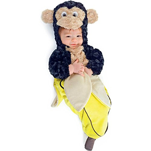 Morris Costumes Monkey In A Banana Bunting