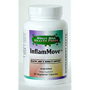 Holly Hill Health Foods - INFLAMMOVE (HEALTHY JOINT & MOBILITY SUPPORT) - 90 Vegetarian Capsules