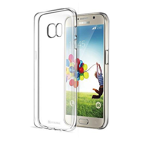 Coolreall Coque de protection Samsung Galaxy S7 Housse Etui TPU Clair Transparente Sans Encombrement Ultra Douce Coque avec un design unique granuleus...