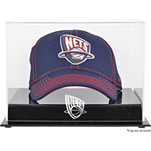 NBA Logo Cap Display Case NBA Team: New Jersey Nets by Mounted Memories