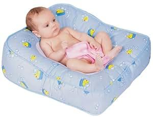Leachco Flipper 2-Way Baby Bather, Blue Ducks