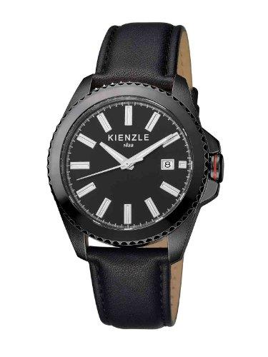 Kienzle - K3061043011-00071 - Montre Homme - Quartz Analogique - Bracelet Cuir Noir