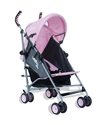asalvo 8572.0 Babybuggy Liberty, rosa / grau