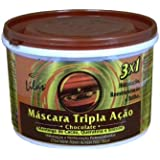 Brazilian Hair Treatment Chocolate Triple Action(Cocoa Butter,Keratin and Sil...