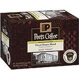 Peet's Coffee Decaf House Blend Single Cup Coffee for Keurig K-Cup Brewers 40 count