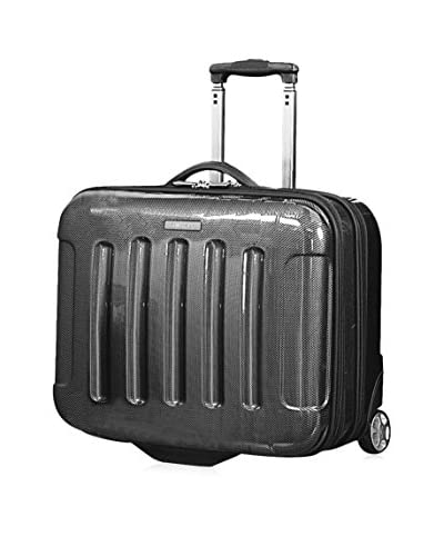 Calvin Klein Bromley Rolling Case, Charcoal, 8.5X14X21