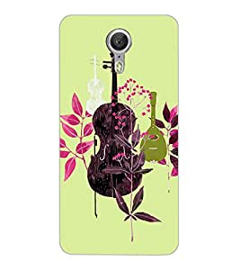 Axes Premium Designer Back Cover for YU Yunicorn (-d554