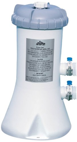 Intex 28603EG 530-Gallon Filter Pump AC 110 to 120-Volt