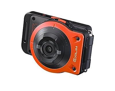 CASIO デジタルカメラ EXILIM EXFR10EO カメラ部/コントロール部分離 フリースタイルカメラ 1410万画素 EX-FR10EO オレンジ