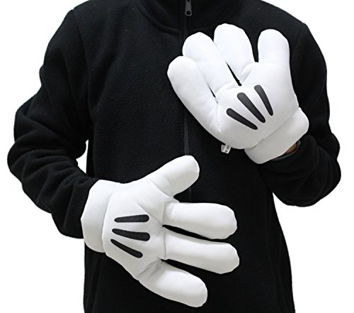 Mickey Mitts Plush Mickey Mouse Gloves Cosplay