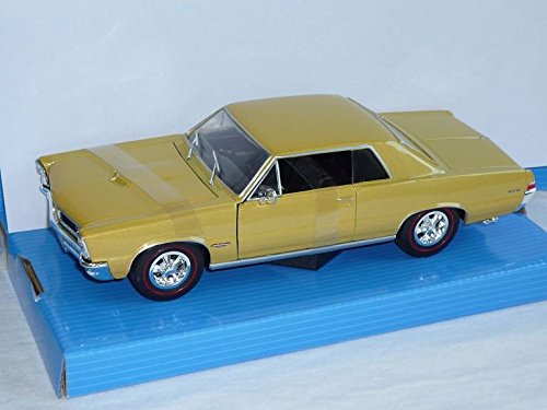 pontiac-gto-coupe-1965-gold-beige-1-24-welly-modell-auto