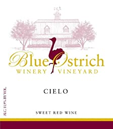 NV Blue Ostrich Cielo 750 mL