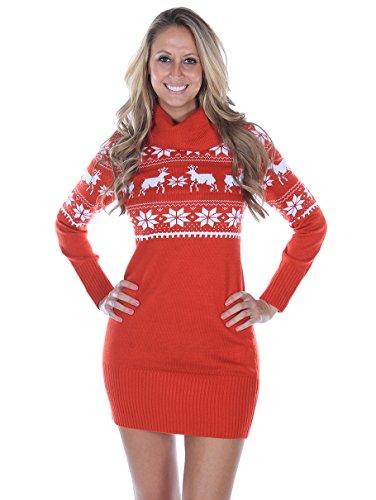 Fair Isle Christmas Sweater Dress