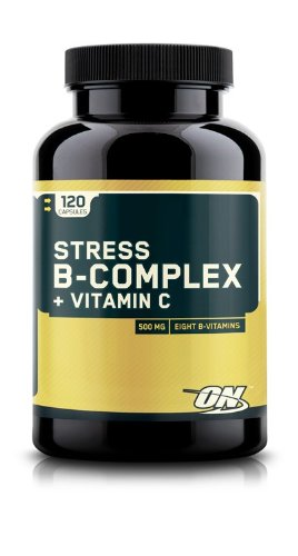 Optimum Nutrition Stress B-Complex + Vitamin C 120 caps