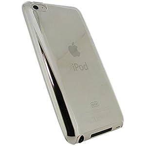 igadgitz Kristall Hartschalentasche Hardcase Schutzhülle Hülle Tasche Etui Case in Transparent Klar für Apple iPod Touch 4G 4. Gen Generation 8gb 32gb und 64gb + Display Schutzfolie