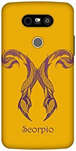 The Racoon Lean Scorpio hard plastic printed back case / cover for LG G5