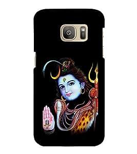 printtech Lord God Om Namah Shivaya Back Case Cover for Samsung Galaxy S7 edge :: Samsung Galaxy S7 edge Duos with dual-SIM card slots