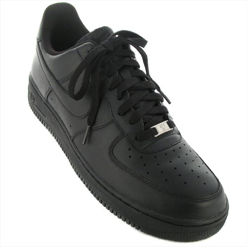 Nike - Air Force 1 07 - Color: Black - Size: 10.0