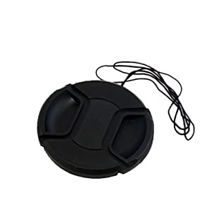 Dopo Snap On 58mm Replacement Lens Cap for Nikon, Canon, Sony, and Other Digital Camera Lens