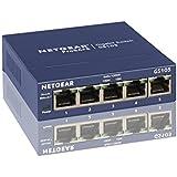 Netgear GS105 (5-Port Gigabit Kupfer Switch, L�fterlos)