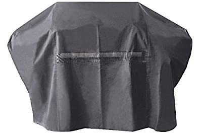 iCOVER Heavy-Duty water proof patio outdoor BBQ Barbecue Smoker/Grill Cover for weber char-broil Brinkmann Nexgrill