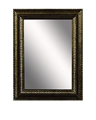 PTM Images Traditional Mirror, Antique Gold