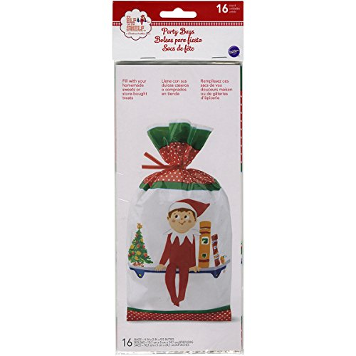 Wilton 1912-8550 16 Count Elf on The Shelf Party Bags