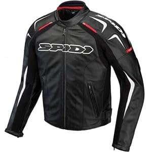 Amazon.com: Spidi Track Leather Jacket - 40 US / 50 Euro