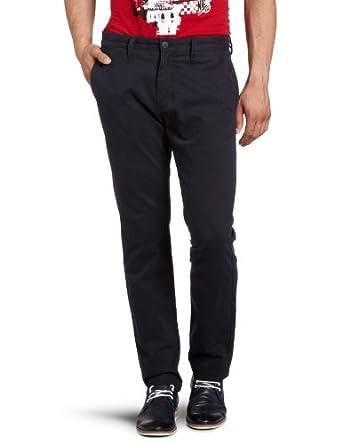 Vans Excerpt Chino Men's Trousers Deep Navy W28INxL32IN
