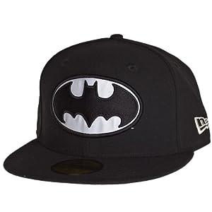 New Era Hero Reflect Batman Cap 5950 Basic Fitted Basecap Cap Kappe(6 7I8 - 54,9cm)