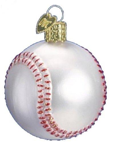 Old World Christmas Ornament (Baseball)