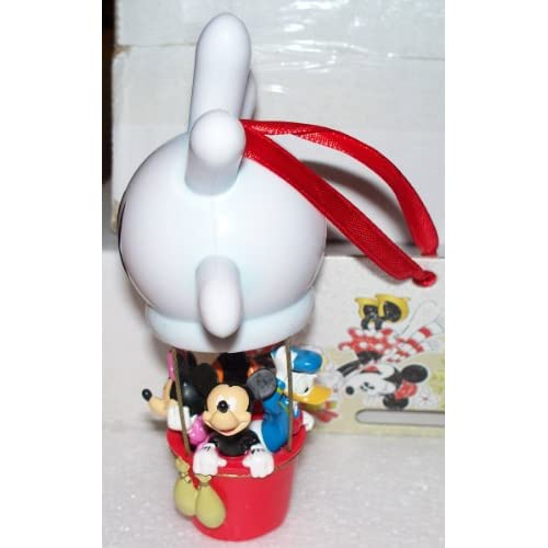 Disney Mickey (& Friends) Hand Balloon Retired Christmas Ornament NEW