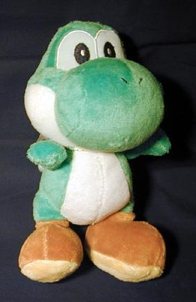 Picture of Senai Nintendo Super Mario Brothers Mario Party 6 Inch Plush Yoshi Figure (B000BPAMVG) (Senai Action Figures)