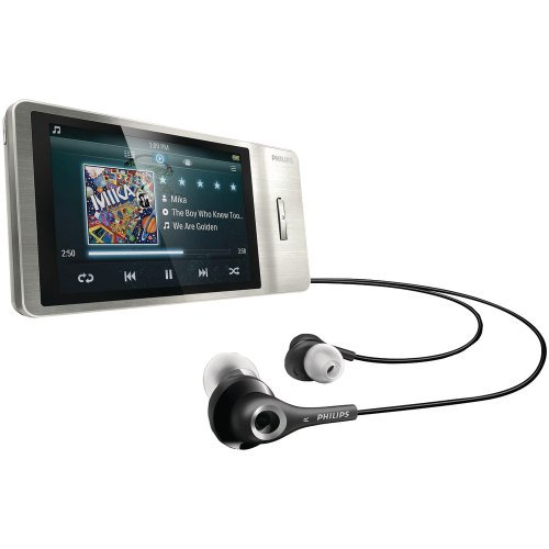 Philips GoGear Muse 8GB MP3 Player SA3MUS08S/37
