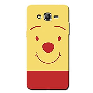 POOH BEAR FACE BACK COVER SAMSUNG ON5 PRO