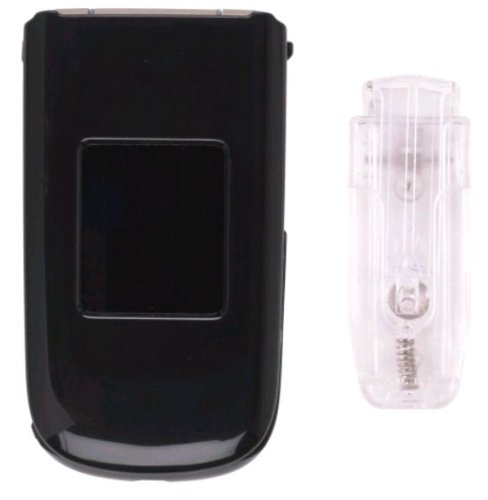 Wireless Solutions Snap-On Case for T-Mobile Nokia 3711, Black
