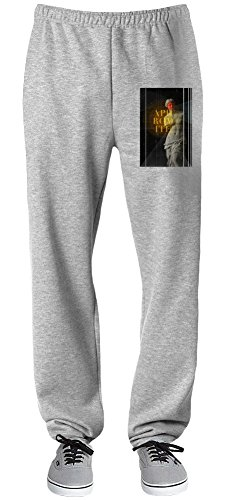Aphrodite Relaxed Jersey Pants For Indoors & Outdoors Activities  70% Cotton-30% Polyester  Super Lightweight  Premium Sportswear By Teezer Tee (Roman Godess)