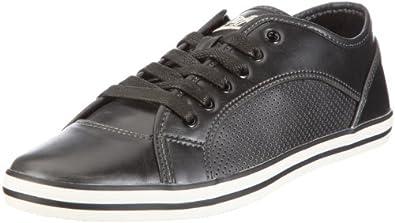Buffalo 209-V8118 DERBY PU 111397, Herren Sneaker, Schwarz (BLACK 01), EU 41