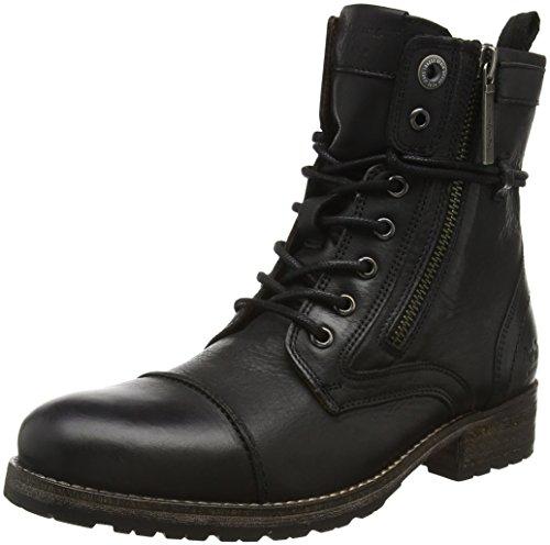Pepe JeansMelting - Stivali a metà polpaccio Desert boots Donna , Nero (Noir (999Black)), 39
