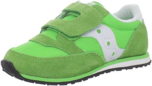 Jazz H&L Fashion Sneaker ,Green/White,6 M US Toddler