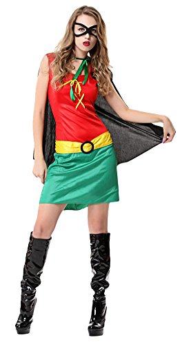 Ace Halloween Adult Women's Sexy Superwoman Batman Costumes
