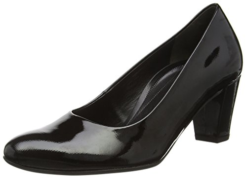 Gabor Shoes Comfort Fashion, Scarpe Con Tacco Donna, Nero (Schwarz 87), 42 EU