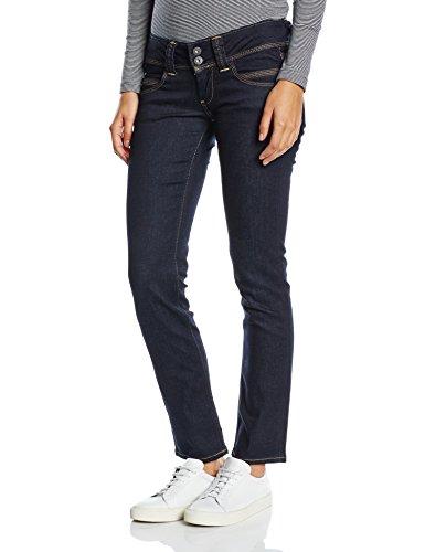 Pepe Jeans Venus, Jeans Donna, Blu (Denim), W32/L30 (Taglia Produttore: 32)