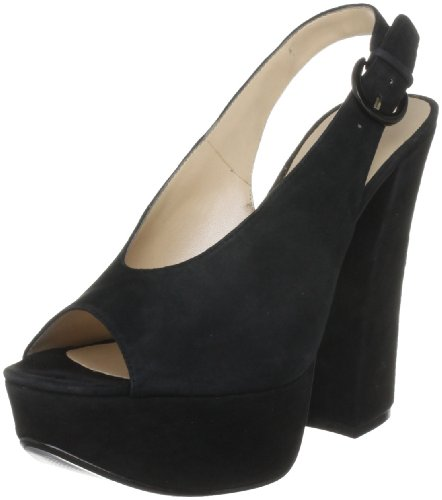Chinese Laundry Women's First Stop 2 Black Platforms Heels 5052125698216 5 UK
