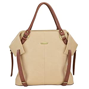 timi & leslie Charlie Changing Bag (Sand/ Cinnamon)