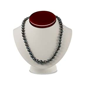 Tahitian Black Pearl Necklace (10-12.7mm Round AA+)
